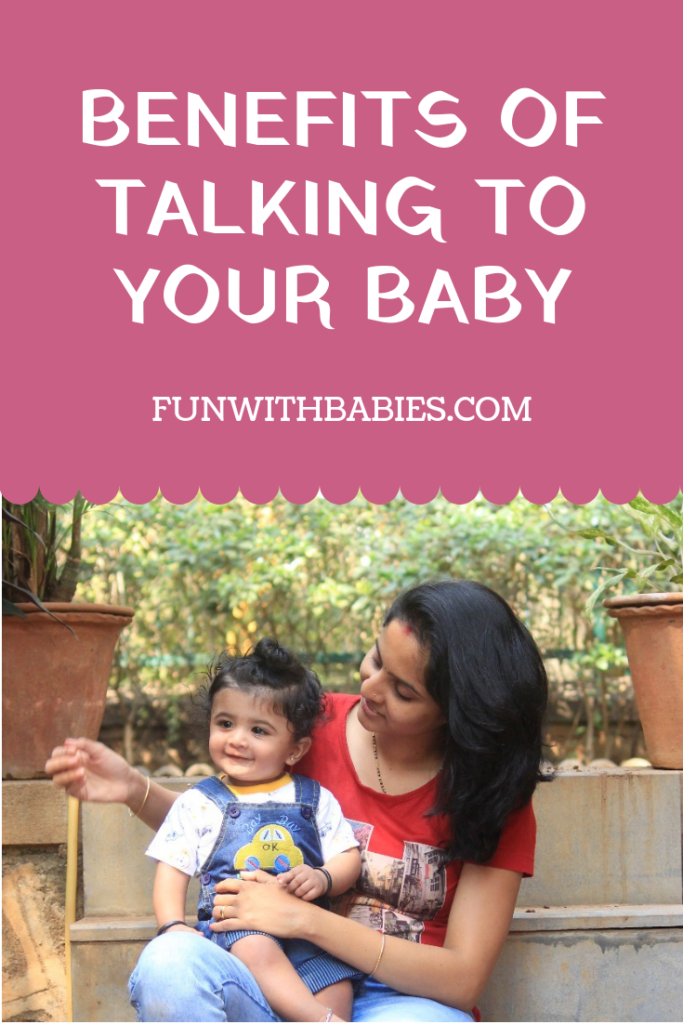 How to talk to your baby - Benefits of talking to your baby