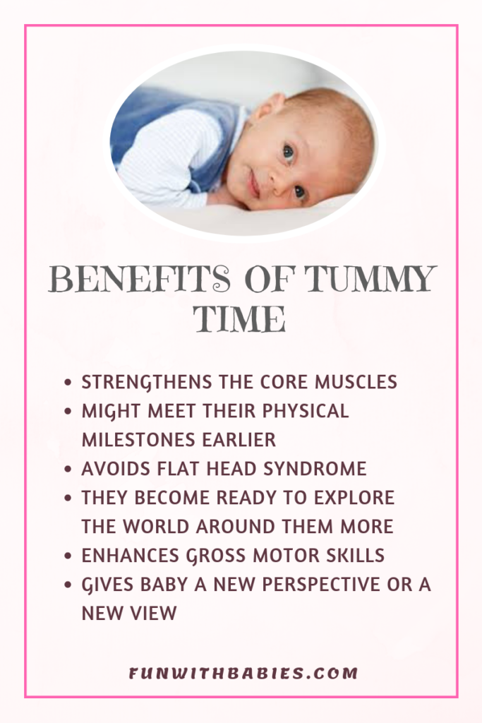 Tummy Time - Benefits