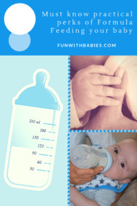 Formula Feeding - Must know practical perks of Formula Feeding your baby
