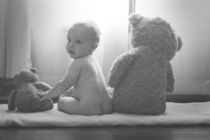 Nappy change - After changing the soiled nappy give the baby some free time to avoid nappy rashes