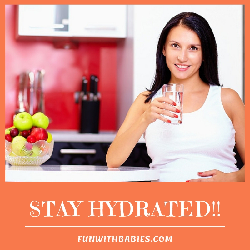 Staying Hydrated is very important to minimize morning sickness during pregnancy