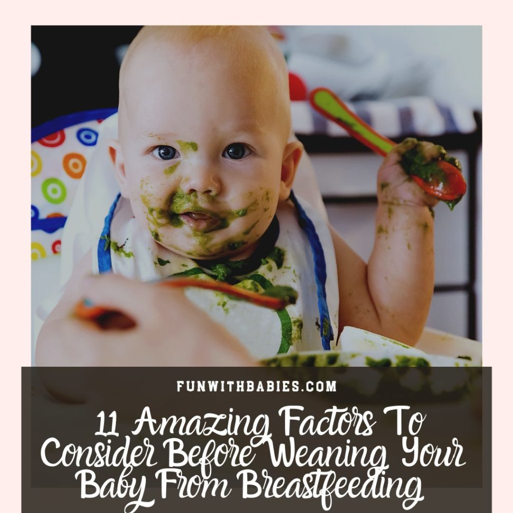 11 Amazing Factors To Consider Before Weaning A Baby From Breastfeeding Instagram Image