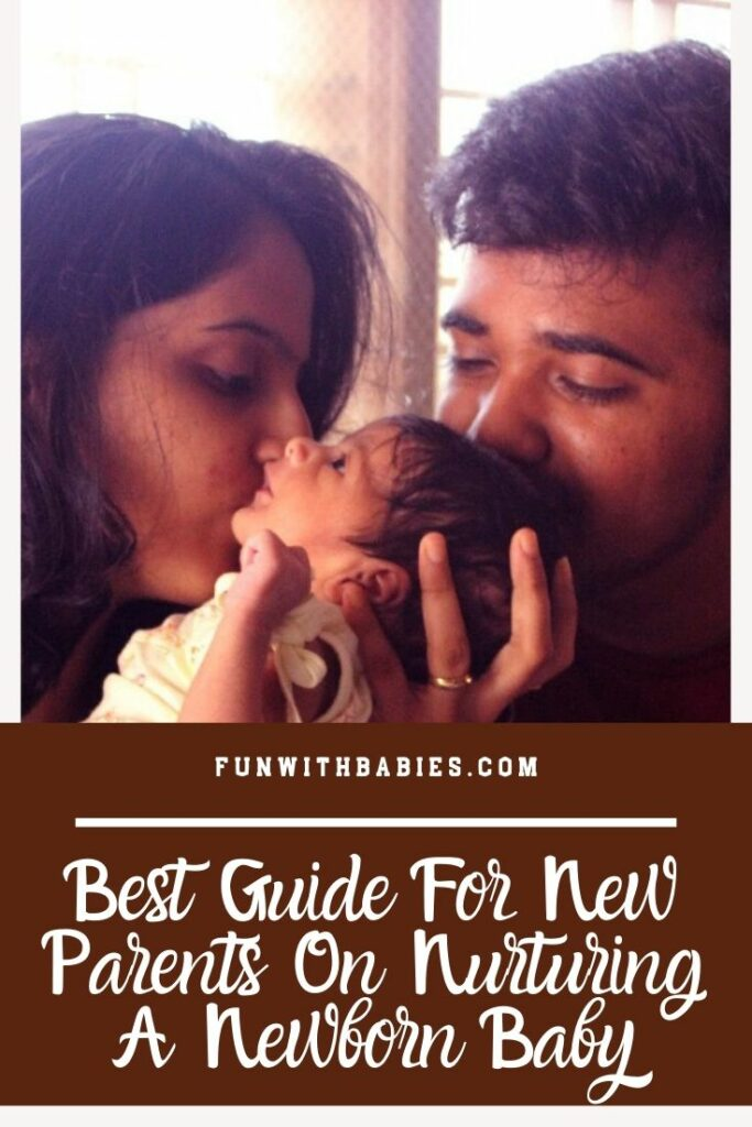 Best Guide For New Parents On Nurturing A Newborn Baby Pinterest Image