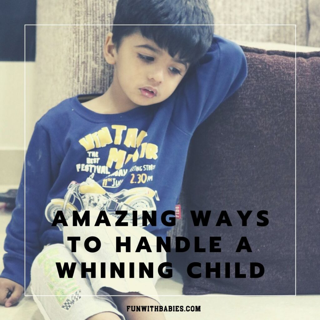 How to handle a whining child Social Media Image