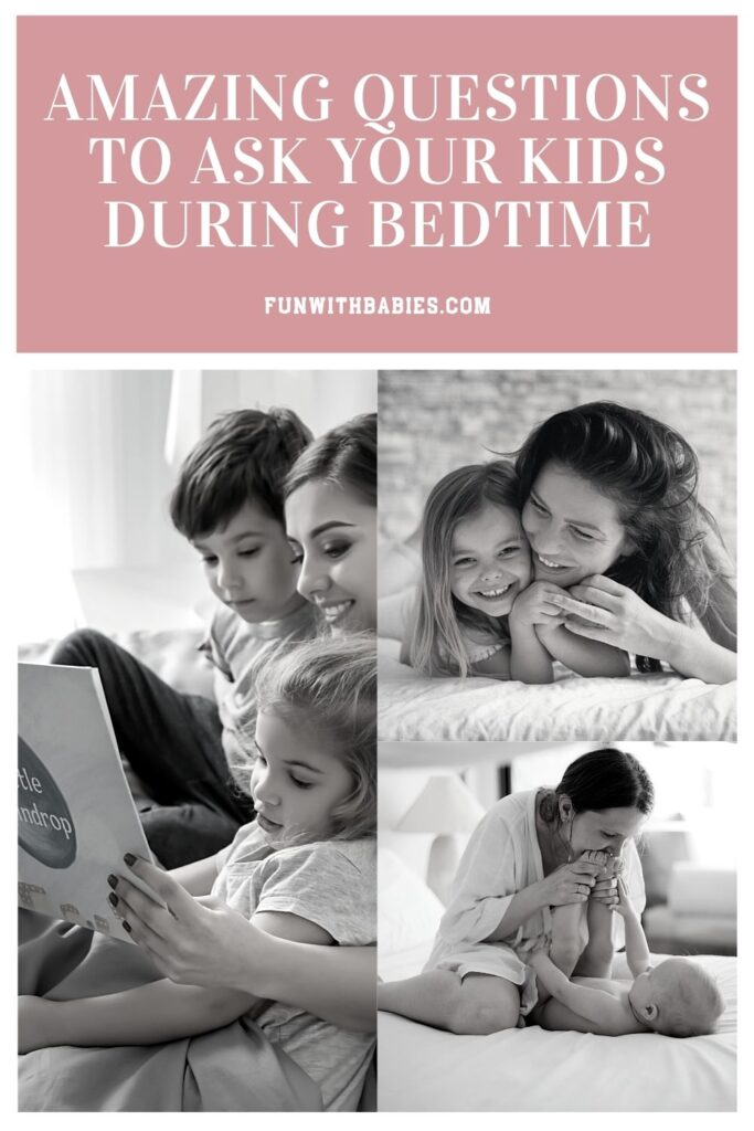Questions to ask kids during bedtime