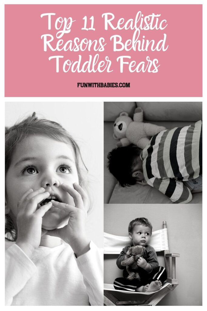 Top 11 Realistic Reasons Behind Toddler Fears Pinterest Image