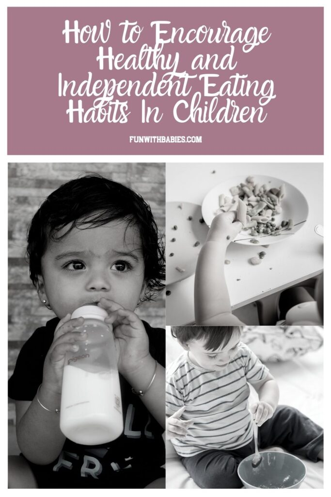 How to Encourage Independent Eating Habits In Babies